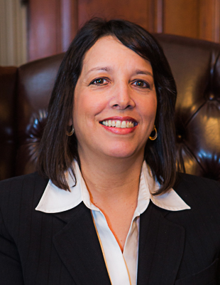 Portrait of Salem Mayor Kim Driscoll